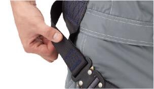 ループ型腰部ベルト