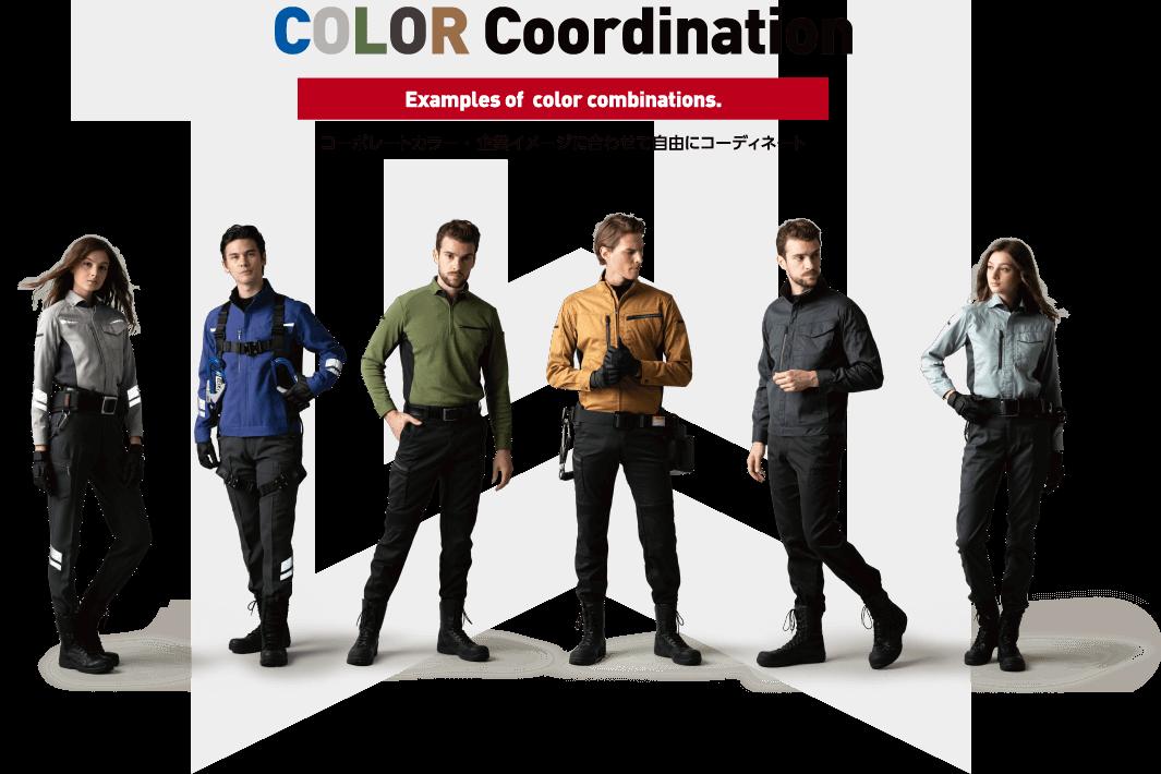 COLOR Coordination コーポレートカラー・企業イメージに合わせて自由にコーディネート